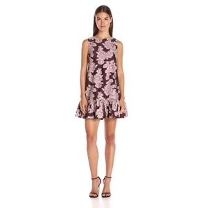 Cynthia Rowley Oversized Jacquard Mini Dress